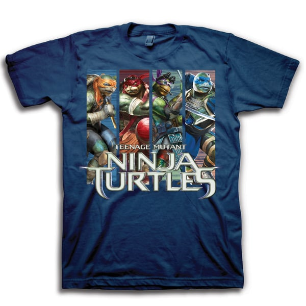 Ninja Turtles Men's Graphic Short Sleeve T-Shirt