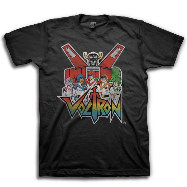 Voltron Men's Graphic Short Sleeve T-Shirt