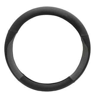 Fit 15-inch Black Steering Wheel Cover
