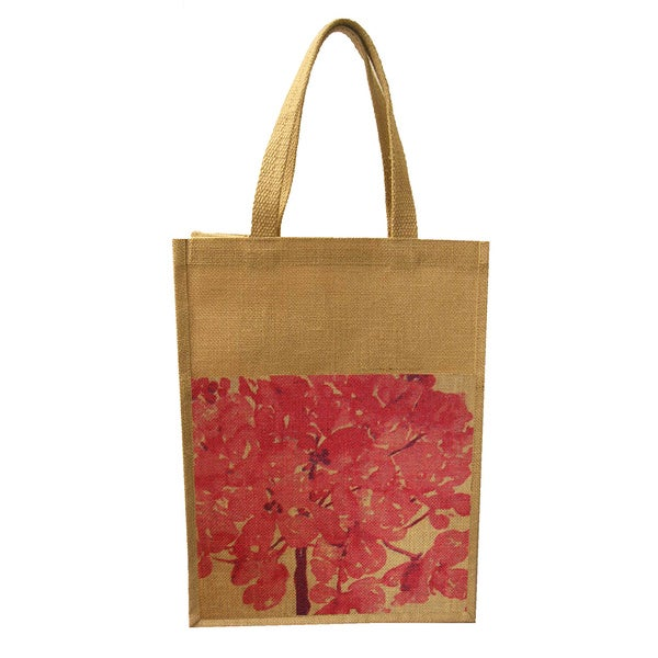 Bethanie Jute Commuter Tote Bag