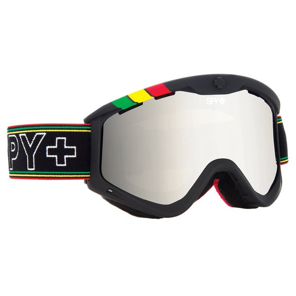 Spy Targa 3 One Love Bronze with Silver Mirror Ski Goggles