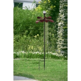 Sunjoy Large Kinetic Solar LED Flower Garden Stake