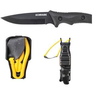 Schrade Guide Master Sling Shot Full Tang Fixed Blade Knife