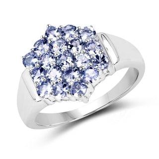 Malaika Sterling Silver Tanzanite Ring