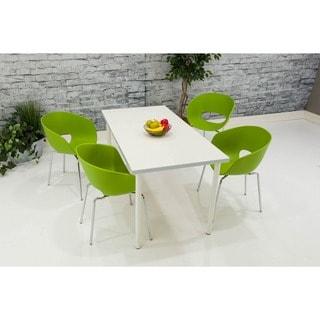 Somette Green Bucket Chair (Set of 4)