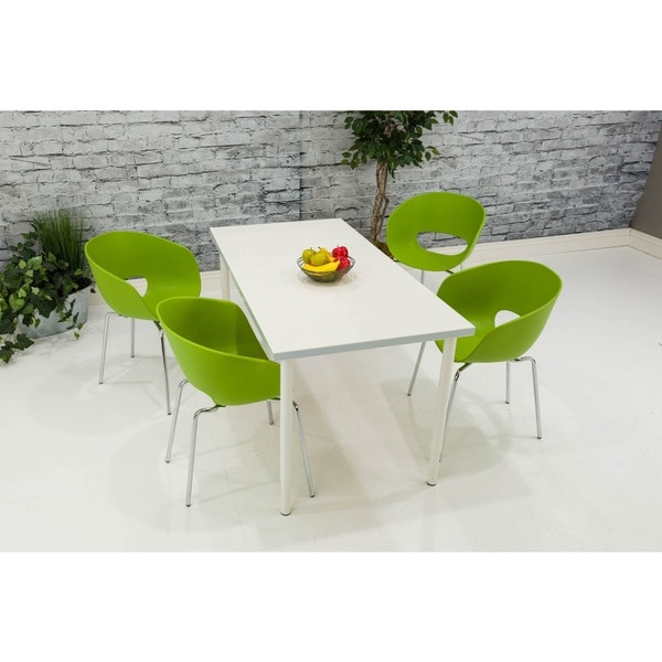 Somette Green Bucket Chair (Set of 4)