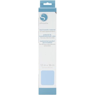Silhouette Smooth Heat Transfer Material 12inX36in Light Blue