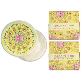 Lemon Verbena Spa Soap and Body Butter Set by Greenwich Bay Trading