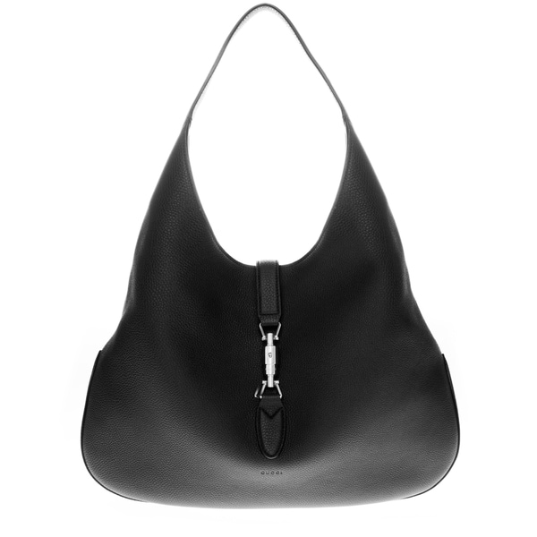 Gucci Jackie Soft Black Leather Hobo