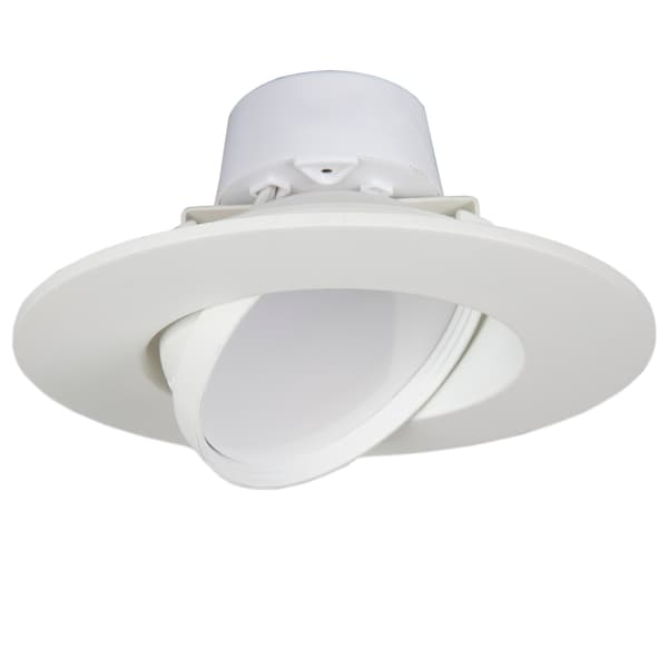 Maxxima 6-inch Dimmable Rotatable LED Retrofit Downlight 4000K Neutral White 750 Lumens