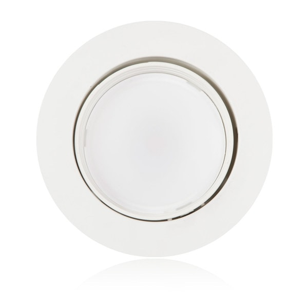 Maxxima 4-inch Dimmable Rotatable LED Retrofit Downlight 4000K Neutral White 750 Lumens