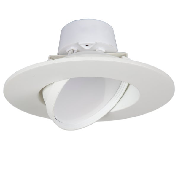 Maxxima 6-inch Dimmable Rotatable LED Retrofit Downlight 2700K Warm White 750 Lumens