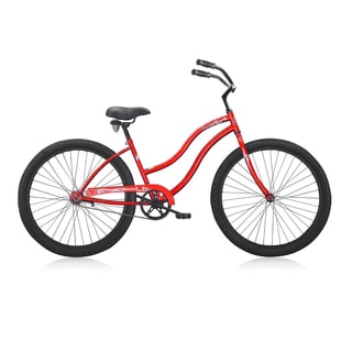 Female'sTouch 26-inch Red Beach Cruiser