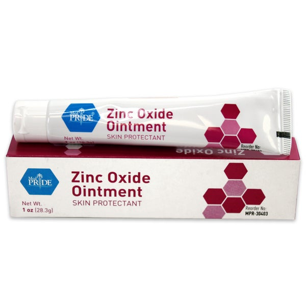 Zinc Oxide 1-ounce Tube (Case of 72)