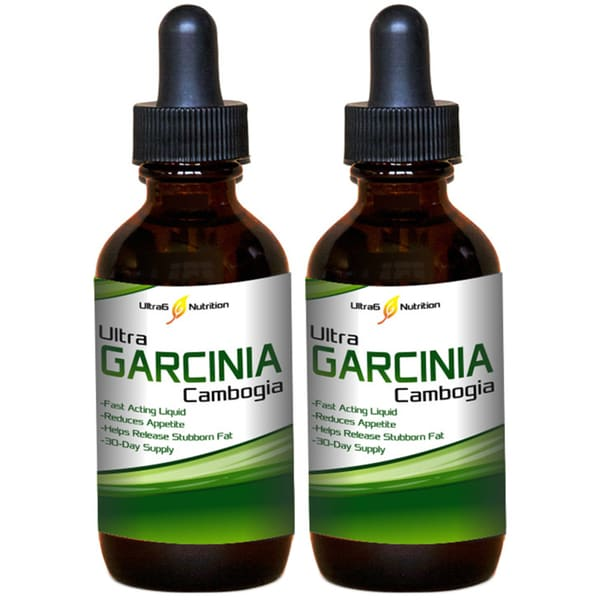 Ultra Garcinia Cambogia Diet Drops (2-Pack)