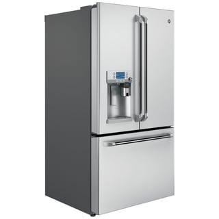 GE Cafe Series 27.8 Cubic Foot Freestanding French-Door Refrigerator