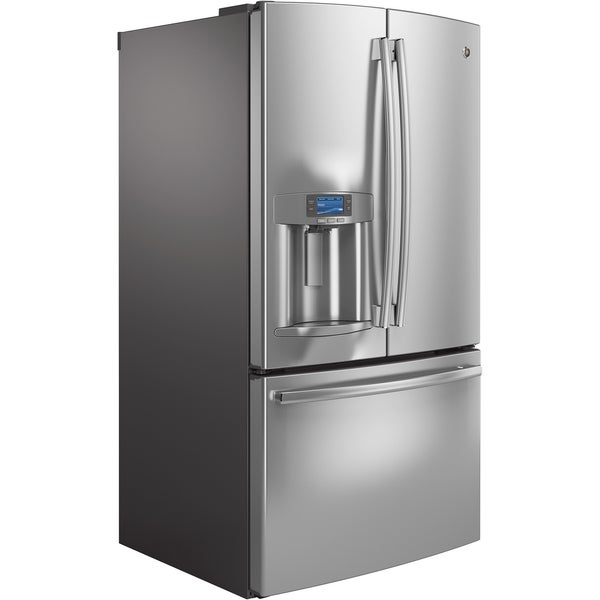GE Profile 27.7 Cubic Foot Freestanding French Door Refrigerator