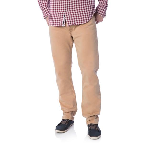 Levi's Men's 508 Beige Jeans