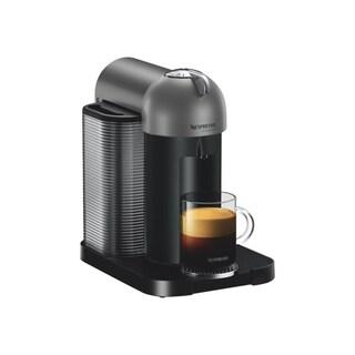 Nespresso GCA1-US-TI-NE VertuoLine Coffee and Espresso Maker, Titan Grey