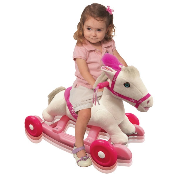 Kiddieland Disney Princess Pony Rocker with Sound