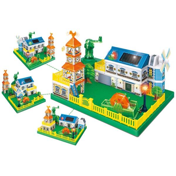 Amazing Toy Greenex Eco-Energy City Interactive Science Learning Kit
