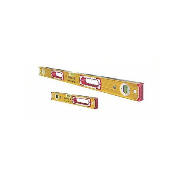 Stabila 37816 48-Inch and 16-Inch Aluminum Box Beam Level Set