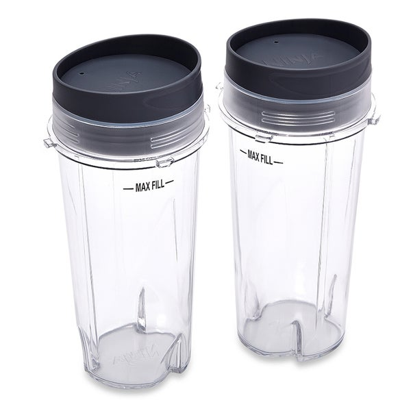 Ninja XWP002CS 16-ounce Single-serve Cups with Lids for Ninja BL660 (Set of 2)