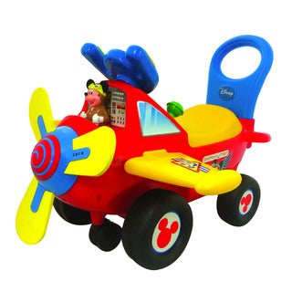 Kiddieland Disney Mickey Mouse Clubhouse Plane Light and Sound Activity Ride-on