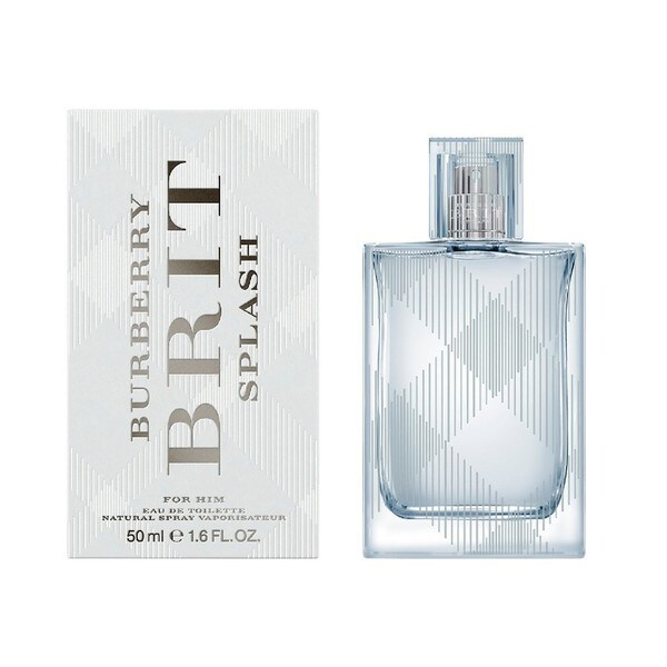 Burberry Brit Splash Burberry Men's 1.6-ounce Eau de Toilette Spray