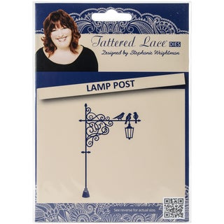 Tattered Lace Metal Die Lamp Post