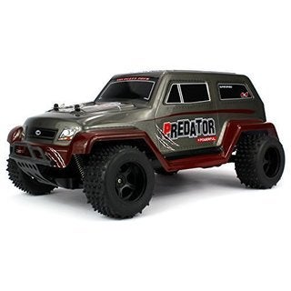 Velocity Toys Off Road Predator SUV Remote Control RC Truck, High Performance Lithium Battery, Big Size 1:10 Scale RTR