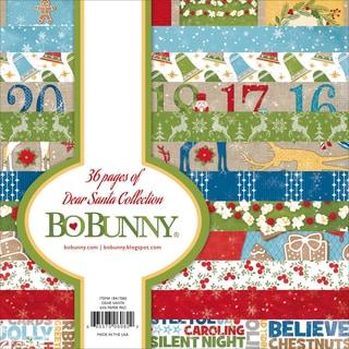 Bo Bunny Paper Pad 6inX6in 36/Pkg Dear Santa