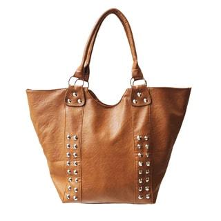 Olivia Miller 'Gemma' Spiky Studded Tote Handbag