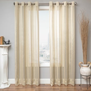 Sedalia Stripe Semi Sheer Curtain Panel