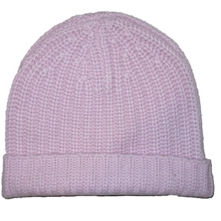 Magaschoni Women's Pink Cashmere Hat