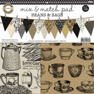 Canvas Corp Mix & Match Pad 12-inch Beans & Bags