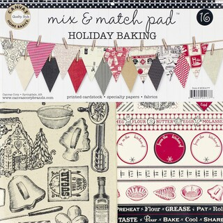Canvas Corp Mix & Match Pad 12-inch Holiday Baking
