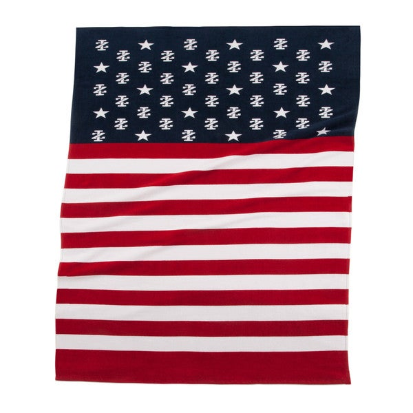IZOD Stars & Stripes Beach Towel (set of 2)