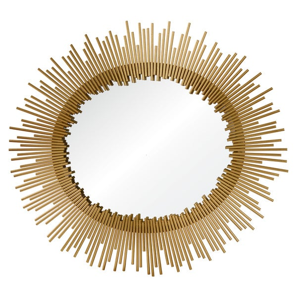 Intrepid Framed Round Mirror