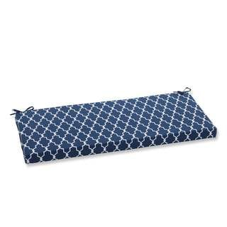 Pillow Perfect Outdoor Indoor Bosco Navy Swing Bench