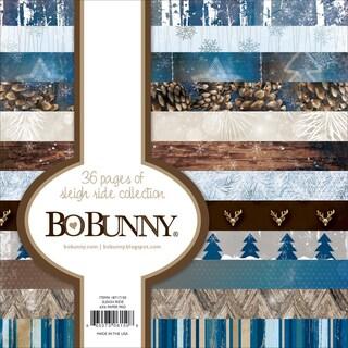 Bo Bunny Paper Pad 6inX6in 36/Pkg Sleigh Ride