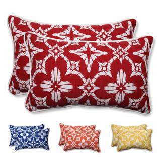 Pillow Perfect Outdoor/ Indoor Aspidoras Rectangular Throw Pillow (Set of 2)
