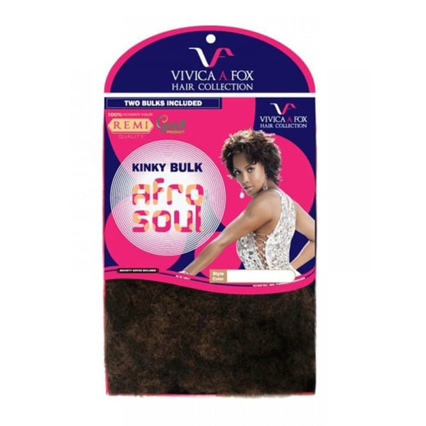 Vivica A. Fox Kinky Twist 100-percent Remy Human Hair
