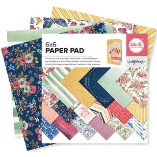 We R Memory Keepers Paper Pad 6inX6in 36/Pkg Wildflower