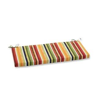 Pillow Perfect Outdoor/ Indoor Dina Noir Bench Cushion