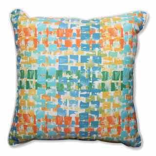 Pillow Perfect Outdoor/ Indoor Quibble Sunsplash 25-inch Floor Pillow