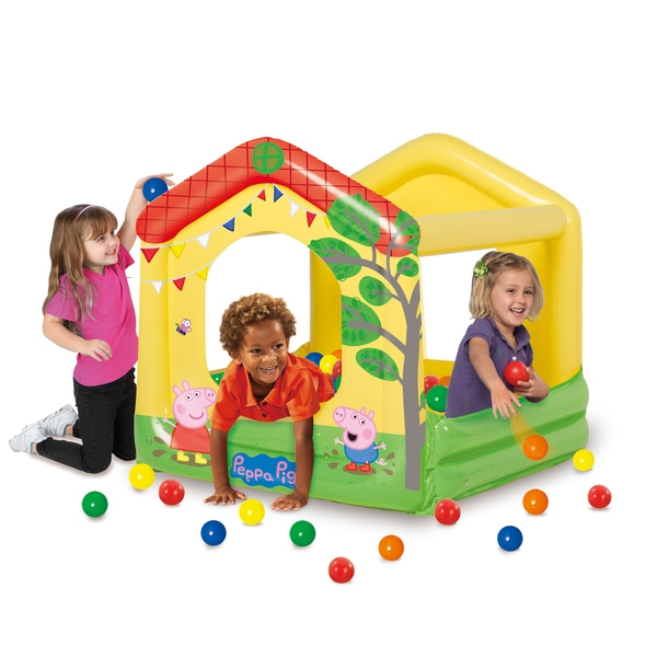 Peppa Pig Tree House Play Center Ball Pit