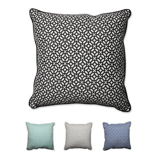Pillow Perfect Outdoor/ Indoor In The Frame 25-inch Floor Pillow