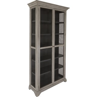 Safavieh Couture Collection Dayton Oak Distressed Grey Storage Cabinet