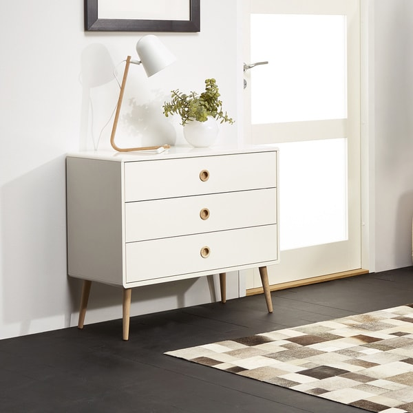 Softline Wide 3-drawer Chest